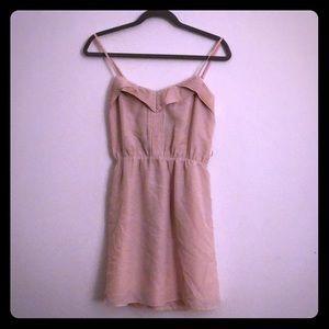 Light pink day dress